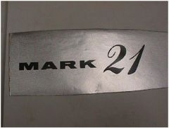 Mark 21 Wingtip ORIGINAL Foil Detail