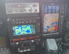 Traffic and weather on GTN650 and Garmin 696