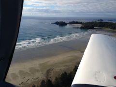Long beach on Vancouver Island