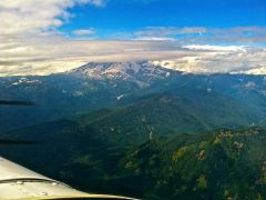 Flying the Pacific Northwest