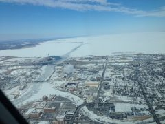 "Mooney view of the ""Frozen Tundra"" Green Bay WI"