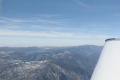Over BigBear, CA
