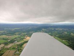Somewhere over South Dakota