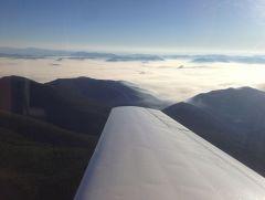 Smoke over Montana