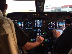 Crew G4 cockpit