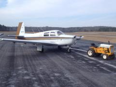 Mooney and Cub Cadet