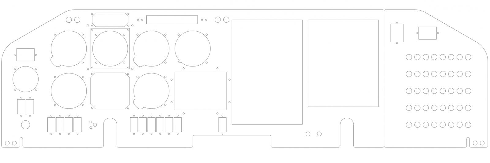 M20J M20K Panel Template