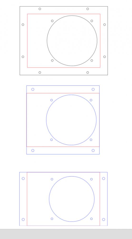 EDM900 Flush mount templates