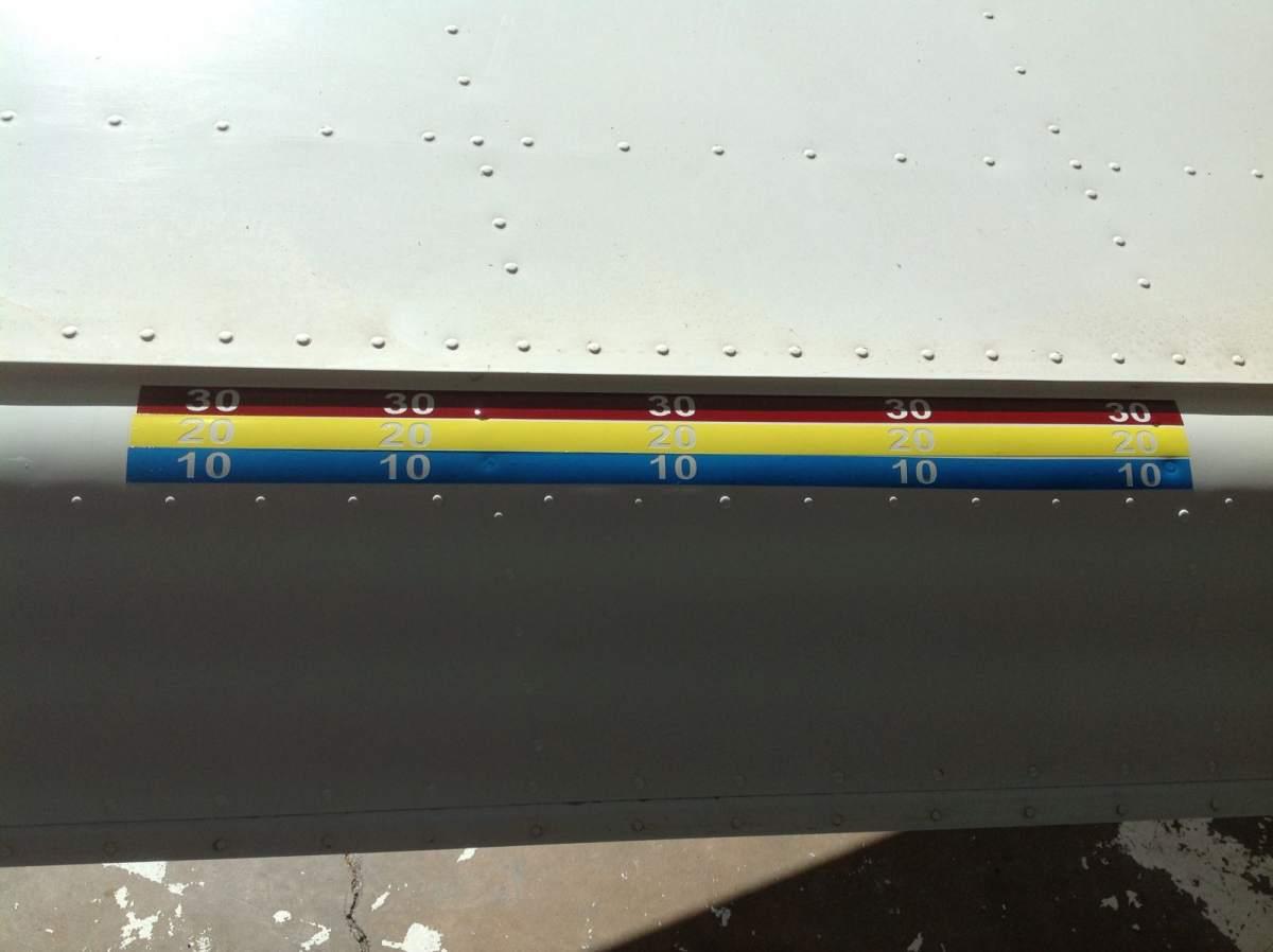 New fancy flap position indicators.