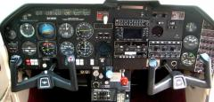 430w, KX 165, KFC 200, Engine Monitor, Extended range tanks, very happy pilot!