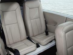 Rear seats - Tall Back / Built in headrests
