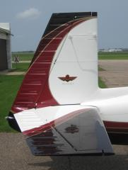 You can see the tail job similar to the wing