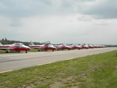 Canada's aviation pride and joy..The Snowbirds
