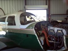 Another shot of the new windshield.....cant wait to fly it again