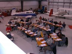 Tri City Aero hosts our class with Jerry Mantha