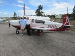 Mountain flying instructor