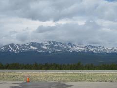 Rockies as seen from Leadville ramp
