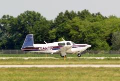 Takeoff at Bolton Field in Columbus, Ohio