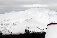 Lenticular cloud over Mauna Kea summit.