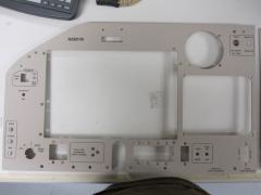 Left side panel - Powder Coating and Laser Etch