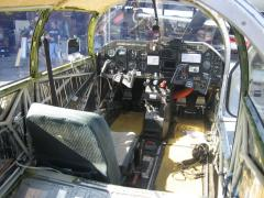 Cockpit before I flew from Kona to Oahu for paint - man was she fast stripped down like that!