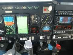 my new panel by Lapeer Aviation