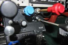 Rotary Switch for Landing Light Modes - between Prop and Mixture controls