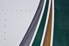 Wing stripe airbrushing