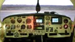The new panel (10/07) by Midwest Aviation (Paducah, KY). Excellent on-time work.