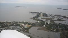 Cedar Key FL from 1000 AGL (see the runway?)