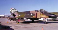 F 4 checkerboard tail 57TFS