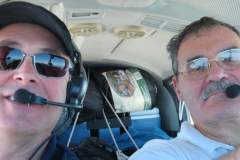 Over Killaloo enroute to Drummond Island for Customs