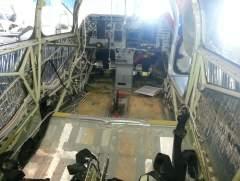 interior refurb rear view