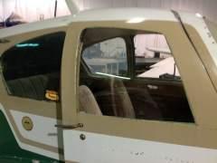 Rear quarter windows are original - pilot and door are new