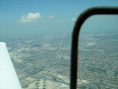 Chicago skyline from over MDW
