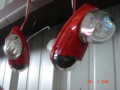 Whelen LED Nav Lights (paint drying)
