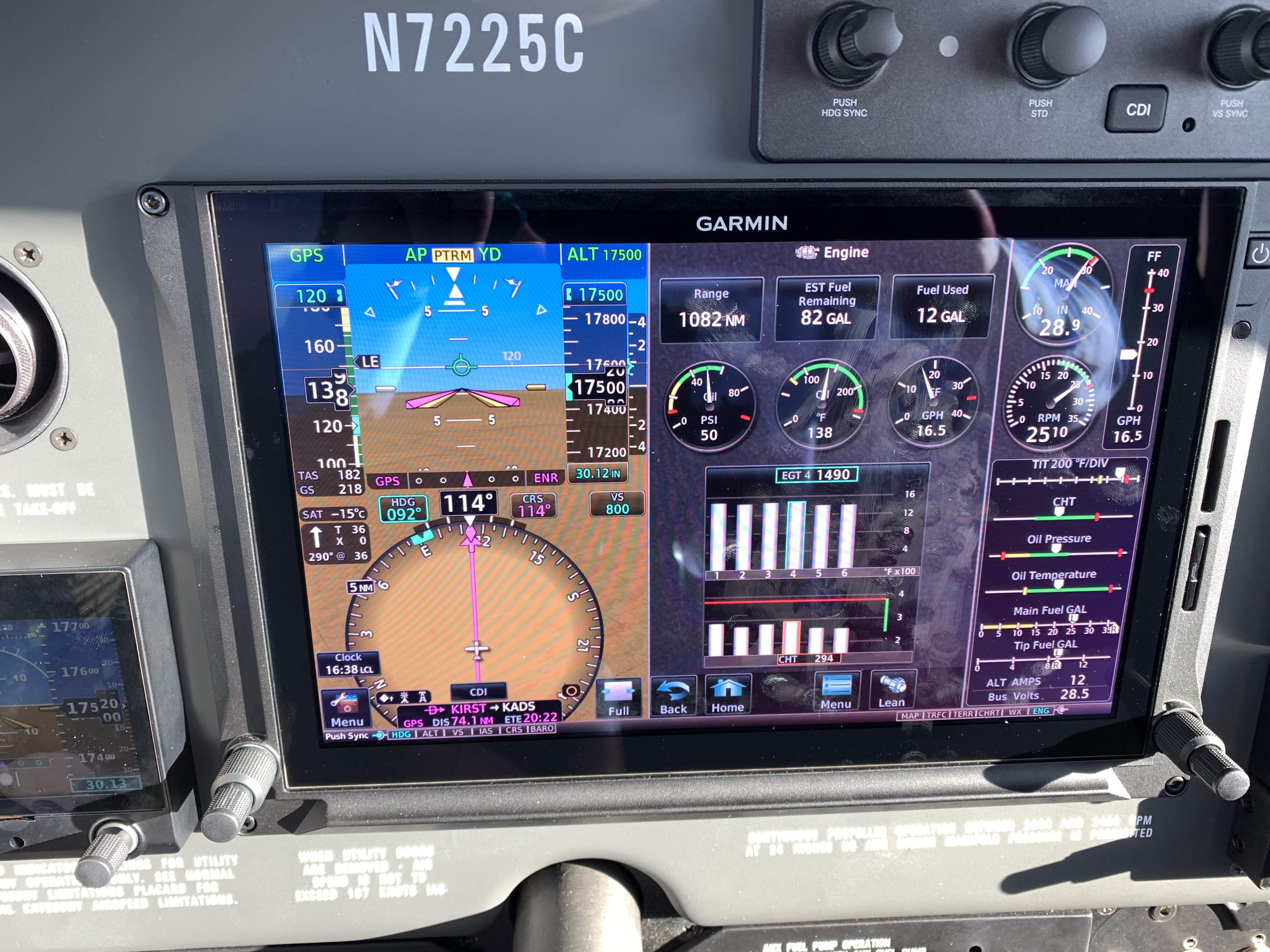 Garmin G500 TXi EIS - Avionics/Panel Discussion