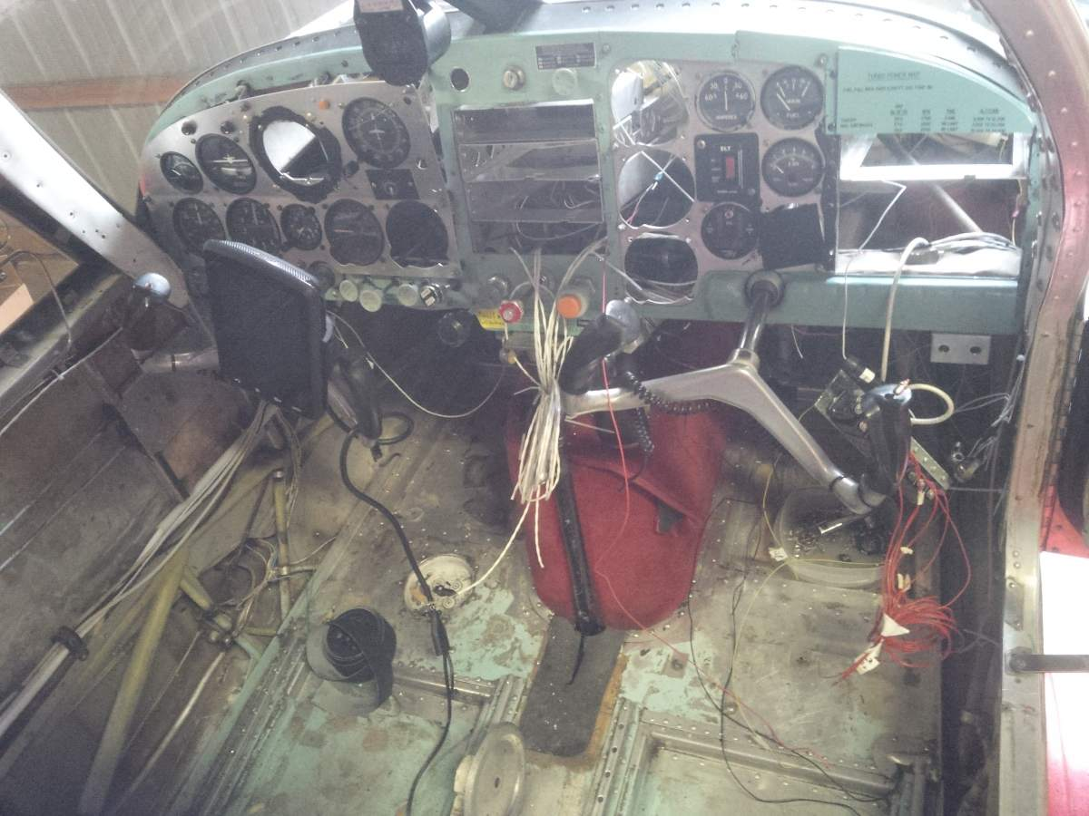 61 M20B during avionics upgrade