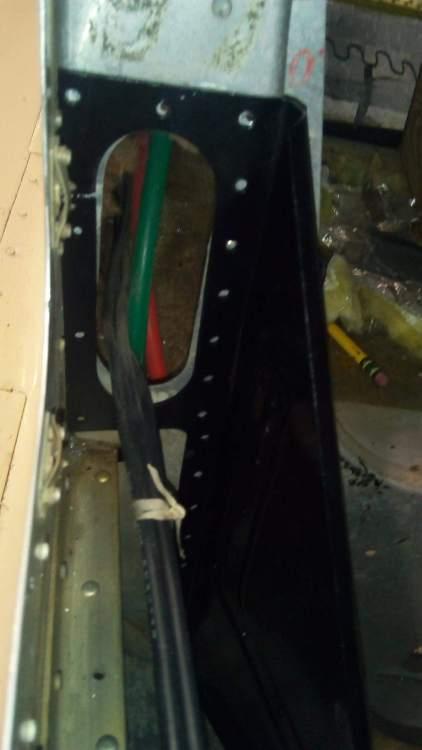 Battery box tail left bulk head hole with box.jpg