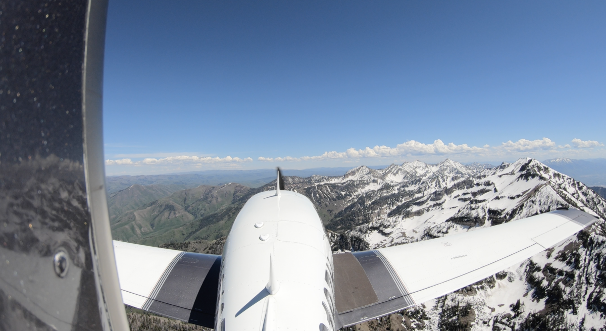 Over the Wasatch